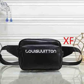 Louis Vuitton Women Leather Waist Bag Single-Shoulder Bag Crossbody