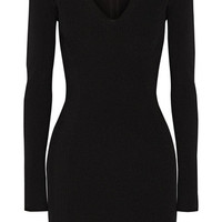Rag & bone - Galina cutout ribbed-knit mini dress