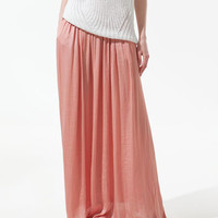 LONG SKIRT WITH POCKETS - Skirts - Woman - ZARA Canada