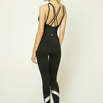 Active Strappy-Front Jumpsuit