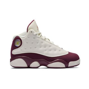 AA QIYIF Jordan 13 Retro (PS)- Sail/Metallic Red/Bronze/Bordeaux