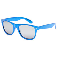 Blue Crown Metallic Classic Sunglasses Blue One Size For Men 25639120001