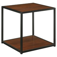 End Table - Espresso/Black
