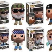 Duck Dynasty Pop Tv Set Of 4 Vinyl Figures by Funko
