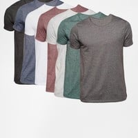 ASOS | ASOS T-Shirt with Crew Neck 7 Pack SAVE 24% at ASOS