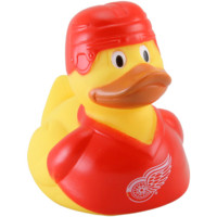 Detroit Red Wings Yellow Rubber Duck