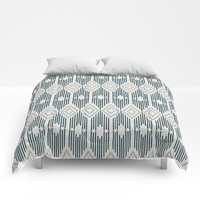 West End - Linen Comforters by heatherduttonhangtightstudio