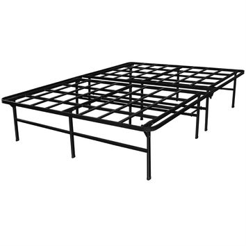 Queen Size Heavy Duty Metal Platform Bed Frame - Supports up to 4,400 lbs