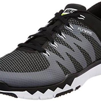 Nike Men's Free Trainer 5.0 V6 Black/White/Dark Grey/Volt Running Shoe