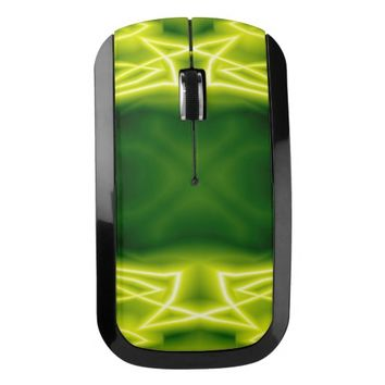 Green Boxes Wireless Mouse