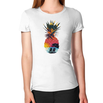 Summer Pineapple Women's T-Shirt