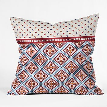 Belle13 Deco Design Throw Pillow