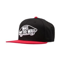 Vans Home Team Snapback Hat, Black Red, at Journeys Shoes