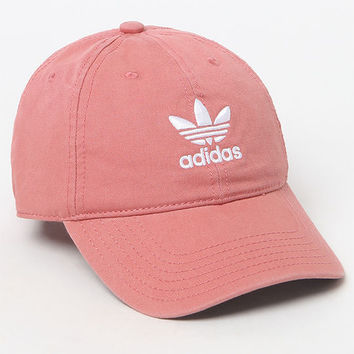 adidas Washed Canvas Dad Hat at PacSun.com