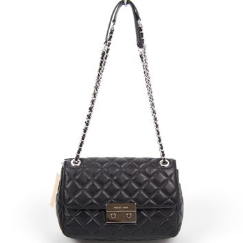 Michael Kors Sloan Large Quilted Chain Shoulder Bag