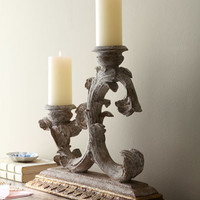 Weathered Candleholder - Horchow