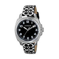 COACH Boyfriend Small 34MM Signature Strap Watch