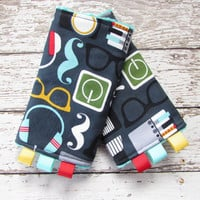 Nerd Suck Pads To Match MJ SSC - Babywearing Drool Pads, Made to order