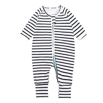 Girls Boys Clothes Spring Fashion Striped Clothes Children Long Sleeve Children's Overalls Jumpsuit