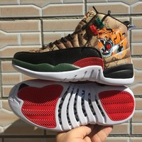 Gucci x Air Jordan 12 Retro Tiger Men Sneaker - Best Deal Online