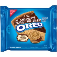Oreo Chocolate Peanut Butter Pie Sandwich Cookies - 12.2oz