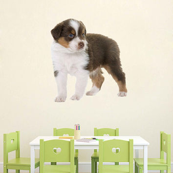 dog wall Decals dog wall decor dog Full Color wall Decals Animals wall Decals veterinary clinic decor Home Decor for kids room cik2239
