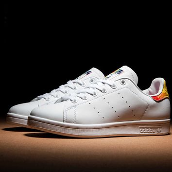 "Adidas  stan smith ""Rainbow Tail""  Sneakers"