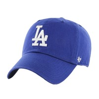 Los Angeles Dodgers - Logo Clean Up Royal Adjustable Baseball Cap