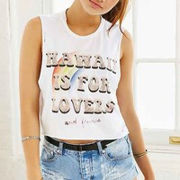The Laundry Room Hawaii Lovers Muscle Tee- White One