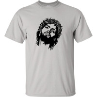 Jesus Wearing Crown of Thorns T-Shirt