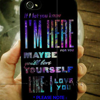 One direction Lyric Quote Galaxy iPhone Case And Samsung Galaxy Case