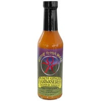 Vermont Pepper Works All Natural Peach Ginger Habanero Pepper Hot Sauce, 8 oz