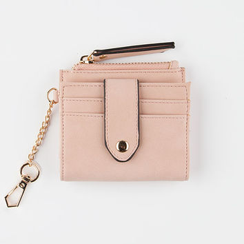 VIOLET RAY Mini Cardholder Keychain | Wallets