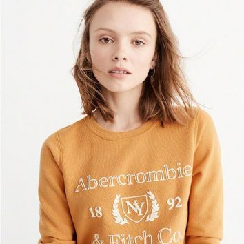 Abercrombie & Fitch Fashion Print Top Sweater Pullover
