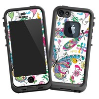 """Butterflies and Dragonflies """"Protective Decal Skin"""" for LifeProof fre iPhone 5/5s Case"""