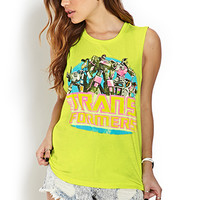 Transformers Knotted Back Tank