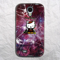 Nebula Hello Kitty Daryl Dixon Samsung Galaxy S4 Case