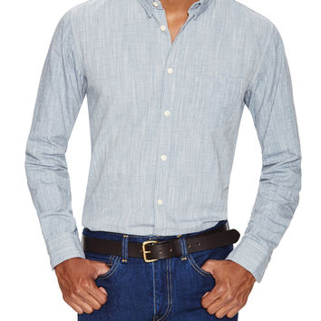 Levi's Made & Crafted Men's One Pocket Mele Sportshirt - Blue -
