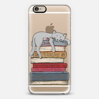 How to chill like a cat - transparent iPhone 6 case by Micklyn Le Feuvre | Casetify