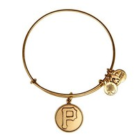 Alex and Ani Pittsburgh Pirates™ Cap Logo Charm Bangle - Russian Gold