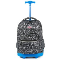 Boys Backpack Bag Two Colors Kids School  On wheels Rolling  Girls For Students Teenagers Children School Bags 19 Inch AT_61_4
