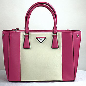 Imitation Prada Pink Peony Purse, Pre-owned, Just In