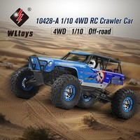 rc car Wltoys 10428-A 1/10 2.4G 4WD Electric Rock Climbing Crawler RC car Desert Off-Road Buggy Brushed Vehicle RTR