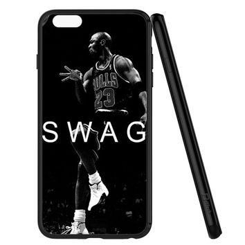 Michael Jordan Swag Sports iPhone 6 | 6S Case Planetscase.com