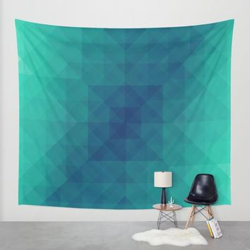 Emerald dreams Wall Tapestry by Xiari | Society6