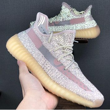 "Adidas Yeezy 350 Boost V2 ""Static Refective"" Running shoes"