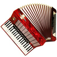 Weltmeister Stella, 120 Bass, 14 Registers, German Piano Accordion, 636