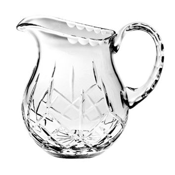 Majestic Gifts PL-163 Hand Cut Crystal 38 oz. Pitcher