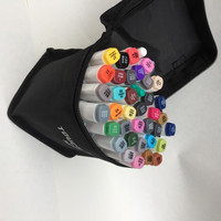 Free shipping a two-headed alcohol oily copic markers 30 36 40 hand-painted design suits manga sharpie pen