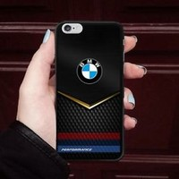 Luxury BMW Performance Stripe Fit Hard Case For iPhone 6 6s 7 8 Plus X Cover +